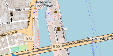Location auf Satellitenbild