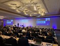 eventlocations: Doppelprojektion im Hilton Hotel Frankfurt - B&B Technik + Events GmbH